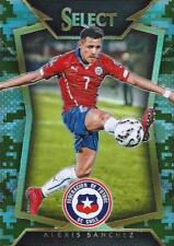 2015 Panini Select Soccer Base Common Camo Parallel Variation #d /249 - (1-50)