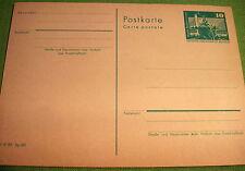 Ungeprüfte Briefmarken aus der DDR (ab 1945) als Ganzsache