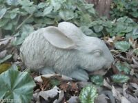 Latex with plastic backup rabbit  mold plaster concrete casting mould