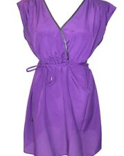 Motherhood -Size L- Women's Purple Polyester Maternity Blouse Top