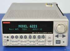 Keithley 6221 Precision DC and AC Current Source - NIST Calibrated with Warranty