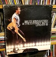 5 LP Box Set Bruce Springsteen & The E Street Band Live 1975-85 vinyl is mint