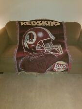 Lays Brand Knitted Washington Redskins Blanket NFL