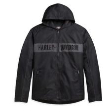 Harley Davidson Men's Hooded Stripe Jacket