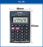 Brand New Casio Mini Pocket Portable 8 digit Calculator HL-4A