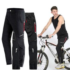 Men's Cycling Trousers Drying Mountain MTB Bike Riding Bicycle Long Pants Hiking