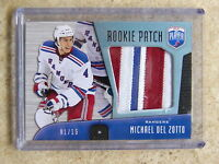 09-10 UD BAP Be A Player Rookie RC Patch MICHAEL DEL ZOTTO /15