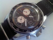 """VINTAGE BREITLING / SICURA CHRONO SPORT WATCH CAL. EB 8420 """"HARD TO FIND"""""""