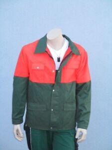 Waldarbeiterjacke Forstjacke Arbeitsjacke Jacke ohne Schnittschutz
