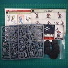 Warcry Iron Golems Warhammer Age of Sigmar Games Workshop 12079