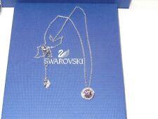 "**NEW** GENUINE Swan Signed SWAROVSKI ""Angelic"" Vintage Rose Pendant"