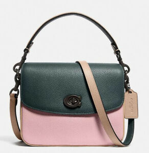 NWT GUARANTEED 100% AUTHENTIC COACH Cassie Crossbody 19 In Colorblock