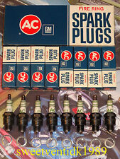 'NOS'... AC 45S Spark Plugs.....GTO, LeMans, Firebird, Catalina, Chevy's...etc..