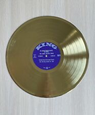 The James Brown Show 1967 Gold Vinyl Record