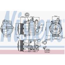 Nissens Kompressor, Klimaanlage Mercedes-Benz 89039 Mercedes-Benz