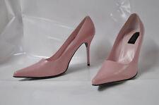 "Hollywood Heels 'Monroe' pointy-toe pink hi-heel pump - Size 12, 4.25"" heel"