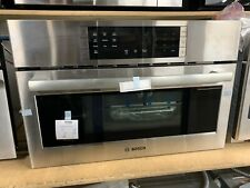 """Bosch 800 Series 30"""" Stainless Steel Convection Speed Built-In Microwave Oven"""