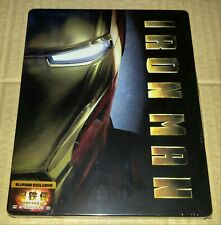 New Iron Man Empty V1 Steelbook™ Blufans Exclusive China (no Blu-ray disc)