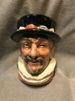"Beefeater, D6233, H:3.25"", Vintage Royal Doulton Character Mug"