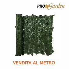 Siepe artificiale Foglie lauro frangisole ombreggiante verde finta siepe H 1 mt