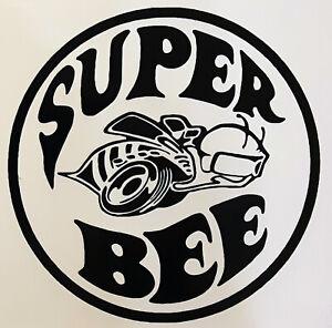 DODGE Super Bee DECALS COLORS 5.5 Inch