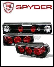 Spyder Honda CRX 88-91 Euro Style Tail Lights Black
