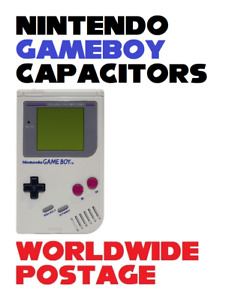 Nintendo Gameboy DMG Cap Kit / Complete 19 x Capacitor Kit / Repair Kit