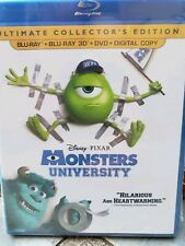 NEW Monsters University BLUERAY/DVD & 3D NO DIGITAL Kids movie blue ray disc