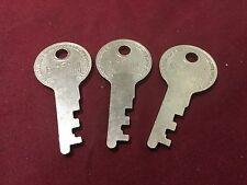 Excelsior Pre-cut Luggage Keys, Set of 3 - Locksmith