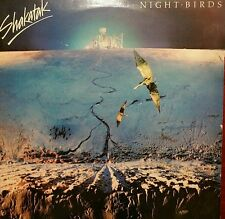 SHAKATAK Night Birds Vinyl LP Record 1982 UK Press W/Inner