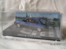 JAMES BOND CARS COLLECTION RENAULT 11 A VIEW TO A KILL