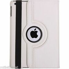 Funda Carcasa Para Apple iPad Air 2 Giratoria piel  + 2 protectores + stylus