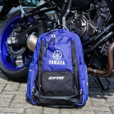Genuine Yamaha Racing Paddock Blue GYTR Backpack Rucksack T18LC008E100