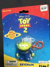 Vintage Toy Story 2 Alien Collectible Keychain Key Chain. 1999