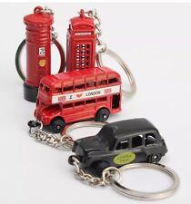 4 druckguss metall London-symbole Schlüsselanhänger Britisch- Souvenir Geschenk