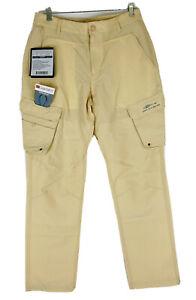 Grundens Men's Outdoor Breakwater UPF 50 Sandstone Fishing Pants Sz 32R (32X31)