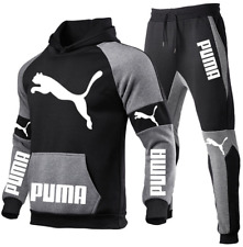 Puma Hoodie Herren 2-teiliger Jogginganzug Sportswear Anzug Sporthosen Set