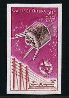 Wallis und Futuna 1965 ITU UIT Satellit Raumfahrt Space Espace 207 U Imperf MNH