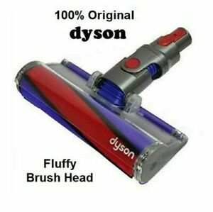 NEW Genuine Dyson V8 Fluffy Soft Roller Hard Floor Cleaner Head Brand