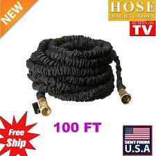 100FT Expandable Garden Magic Hose Triple Layer Flexible Water Pipe US hose VP