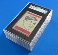 6 CARD LOT ~ 1965 TOPPS TRANSFERS ~  ALL SGC 84 ( SGC 7 )