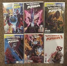 UNCANNY X-MEN #14, 15, 17, 18, 19, & Annual #1  lot 2017 Marvel - all new ivx
