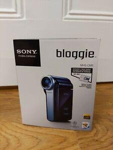 Brandneu Versiegelt Sony Bloggie mhs-cm5 Handheld Digital Camcorder Blog vlogging