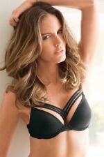 NWT Undressed MARLIES DEKKERS 36D Dame De Paris Push Up Sexy Bra Black