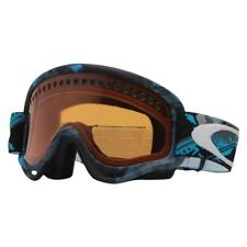 Oakley 57-071 XS O FRAME Shattered Blue Grey Persimmon Youth Snow Ski Goggles .