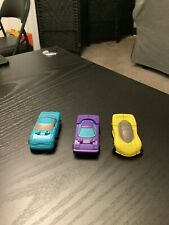 Transformers Vintage Micromicromasters Sports Car Patrol Lot of 3