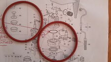 2x Gaggia Classic,Baby,Etc-Upgraded Silicone Boiler Gaskets, O Ring, DM0041/082