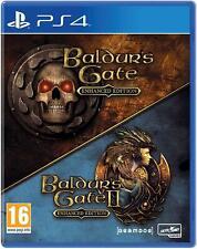 Baldur's Gate Enhanced Edition For PS4 (New & Sealed)