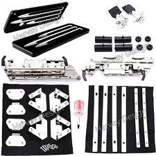 Hard bag Saddlebag Hardware Latch Hinge Lock Kit For Harley 06-13 Street Glide