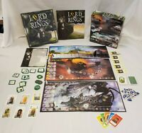 J.R.R. Tolkien Lord of the Rings Board Game Hasbro Reiner Knizia LOTR COMPLETE
